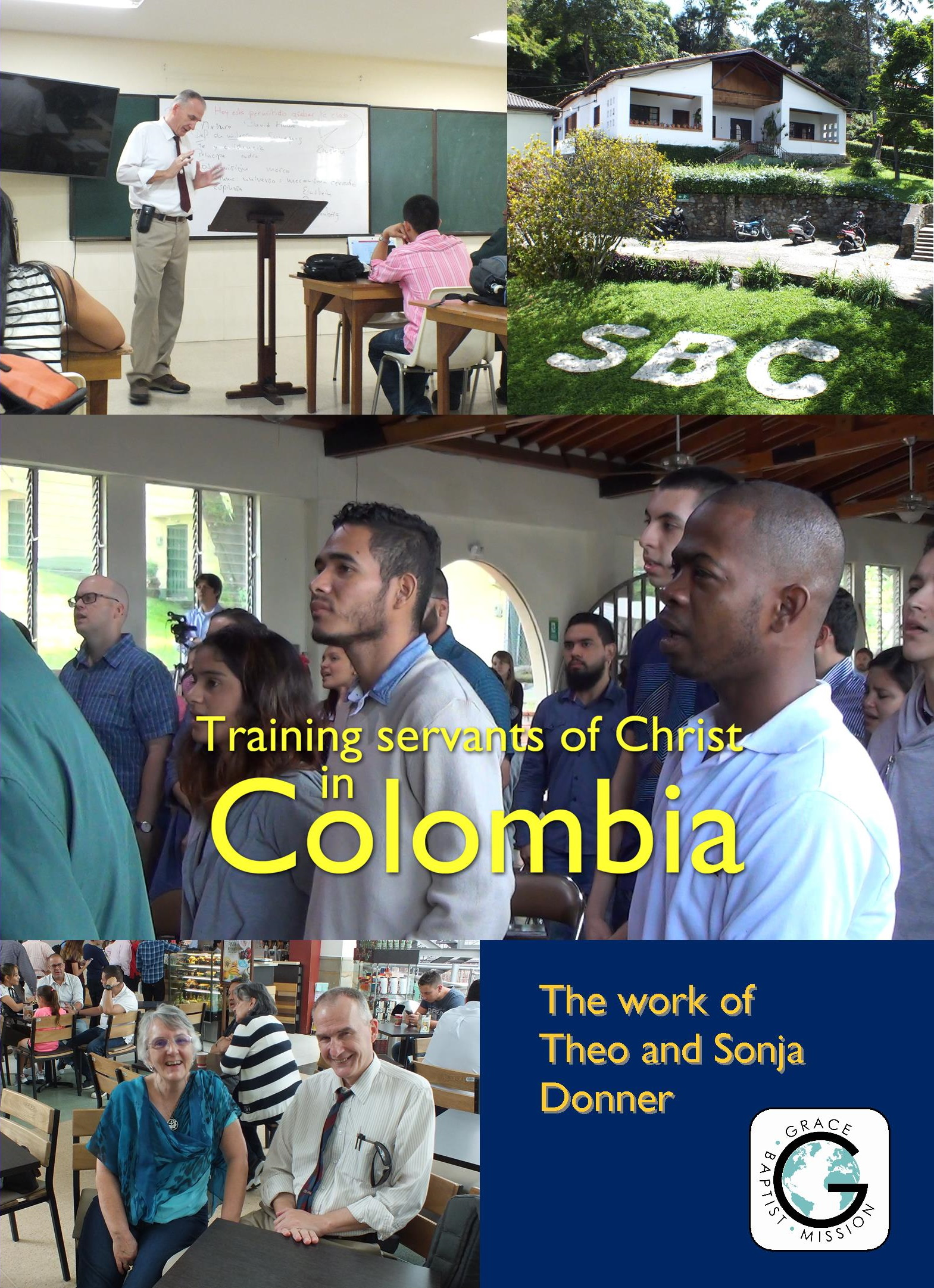 Training Servants of Christ in Colombia